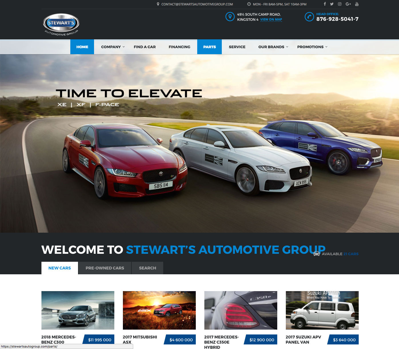Stewart's Automotive Group