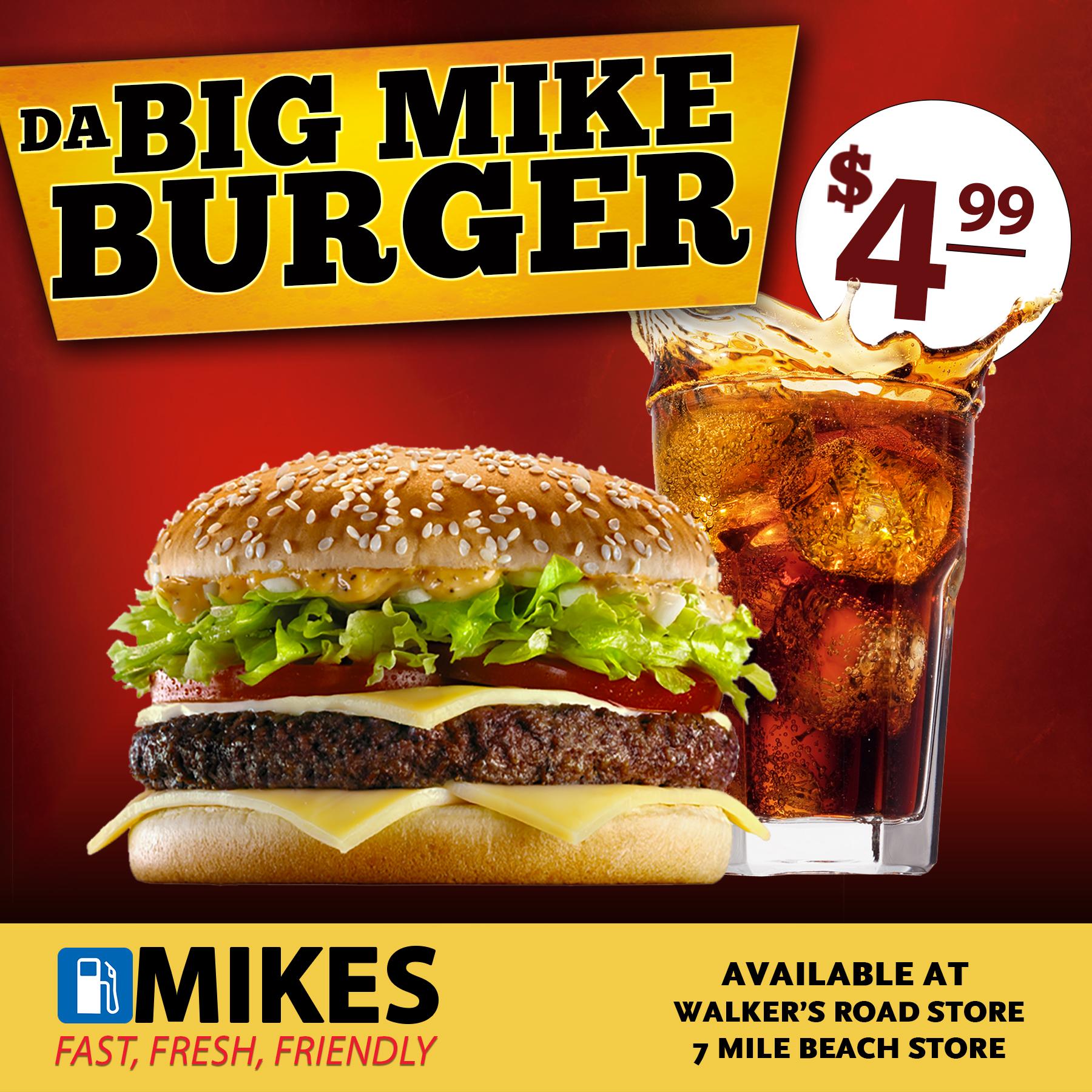 Da Big Mike Burger